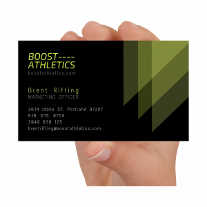 Business Cards – Gloss Or Matte Finish
